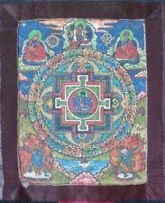 Cakrasaṃvara Tantra Buddha Thangka Painting Handmade Buddhist Mandala Tanka Art