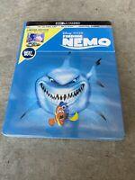 NEW Disney Pixar Finding Nemo 4K Ultra HD, Blu Ray & Digital Code Steelbook