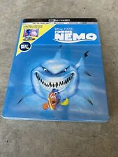 New Disney Pixar Finding Nemo 4K Ultra Hd, Blu Ray & Digital Code Steelbook