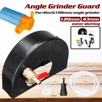 for 4'' Angle Grinder Water Slotting Guard Dust Extraction Grinding Cover +