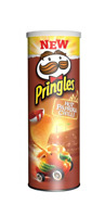 PRINGLES HOT PAPRIKA CHILLI - 190G - VERY LIMITED EDITION  POTATOE PERFECT CHIPS