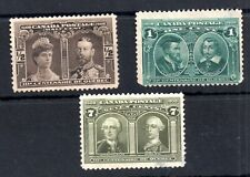 Canada 1908 Quebec mint 'Seconds' to 7c WS14598