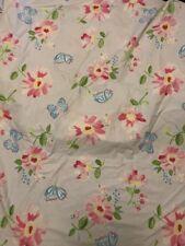Pottery Barn Kids Lavender Brianna Flower Butterflies Duvet -Full Queen