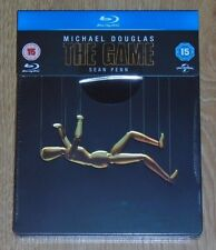 The Game (1997) - Steelbook - blu-ray. New and sealed, UK release. ( M Douglas).