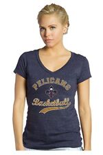 NBA New Orleans Pelicans Womens T-Shirt #0 Demarcus Cousins Triblend V-Neck XS
