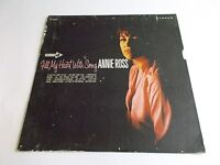 Annie Ross Fill My Heart With Songs LP 1968 Decca Stereo Vinyl Record