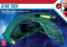 Star Trek Romulan Warbird D'Deridex Class Battle Cruiser - AMT 1:3200 Scale Plas