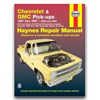 Haynes Repair Manual for 1967-1974 Chevrolet C10 Pickup - Shop Service rg