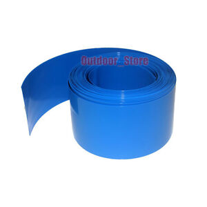 New Flat Width 480MM, Φ305MM PVC Heat Shrink Tubing Wrap RC Battery Pack (Blue)