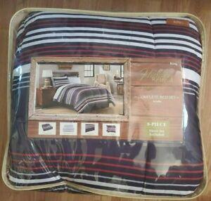 Hidden Retreat King Size Complete Bed Set Arcadia - 8 Piece
