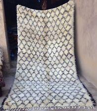 Vintage Beni Ouarain tribal rug (#326)