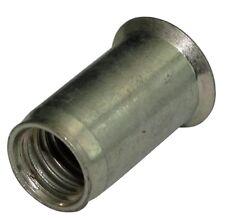 5x inserts à sertir M10 L23mm Ф12.5mm écrou rivet conique acier zingué
