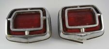 Vintage 2 Taillights Plymouth Chrysler CHRY 2445980 Pres 104863 DCW