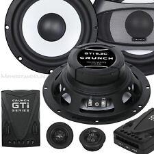 Crunch GTI-6.2C 16,5cm 2-Wege Kompo System 200 Watt 165mm Kicker 25mm Hochtöner