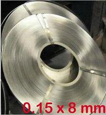 0.15 x 8mm 1kg Nickel Plated Steel Strap Strip Sheets for battery spot welder