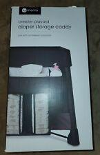 4moms Breeze Playard Convenient Diaper Storage Caddy - Black