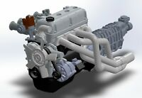 1/24 Resin Engine Toyota 3TC
