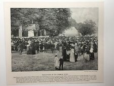 Victorian Print: #PG: Presentation Of The Dunmow Flitch