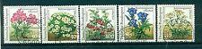 Allemagne -Germany 1991 - Michel n. 1505/09 - Jardin botanique de Rennsteig