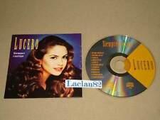 Lucero Siempre Contigo 1994 Melody Cd Con Cancionero E Capas RARE Press Mexican