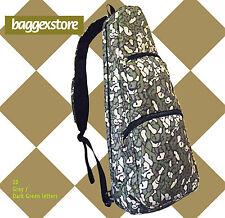 """24"""" Concert Musical String Case Ukulele Gig Bag Sling Cross body Bag 2 Ways"""