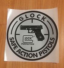 Original GLOCK Safe Action Pistol Sticker Sportschiessen Schützensport