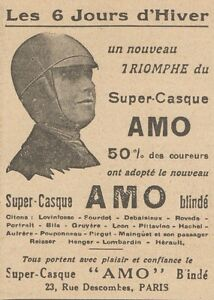 Y5876 Super-Casque Pour Motocyclistes Hook - Advertising D'Epoca - 1930 Old To