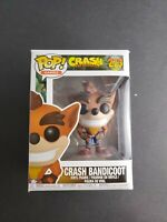 Funko Pop! 273 Crash Bandicoot Vinyl Figure damaged box