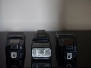 3 X Speedlites 580EX II - Used a few times for portraits & product photography