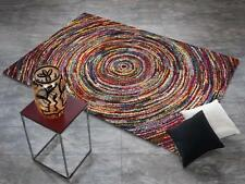 Alfombra Multicolor Diseñador six05 Ronda Moderno 120x170cm DE COLORES