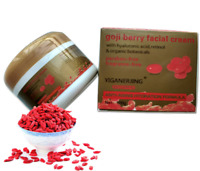Goji berry facial cream with Hyaluronic acid multi effect anti wrinkle & aging