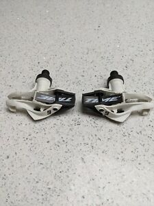 Extremely rare Time Xpresso 6 Carbon Pedals Black White Lightweight -220g / £115