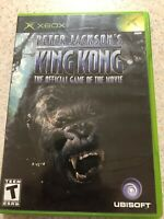 Peter Jackson's King Kong:The Official Game of the Movie(Microsoft Xbox)w/manual