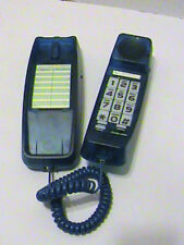 Lenoxx  Wall Phone Touch Tone Dark Blue Transparent Landline Corded Telephone