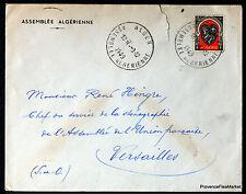 ARGELIA 1949 CARTA ASAMBLEA ARGELIA SOBRE 165CA32