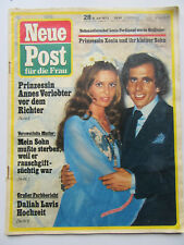 Neue Post 28/1973, Daliah Lavi, Rudi Carrell,Roy Black & Anita, Willi Forst