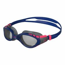 Speedo Swimming Goggle - Futura Biofuse Flexiseal Triathlon Goggle -  Blue/Smoke