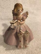 Josef Originals - 11th Birthday - Angel Figurine - Age Eleven - Vintage