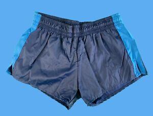 Trigema Vintage Shorts Sport Hose Navy Blau 4 S M 80s Short 80er Style Fashion