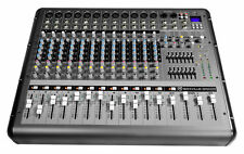 Rockville RPM1470 14-Channel 6000w Powered Mixer, USB, Effects For Church/School