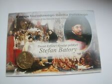 2 zł GN królowie Polski Stefan Batory 1997 rok   blister ozdobny UNC