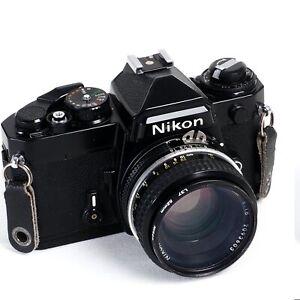 ^ Nikon FE 35mm Film Camera w/ Nikkor 50mm 1.8 [EX+++]