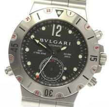 BVLGARI Diagono SD38S GMT black Dial Automatic Men's Watch_563690