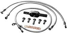 Goodridge - HD0062-1FCH/CL - High End Front Brake Line Kit, Stock Length 03-6770