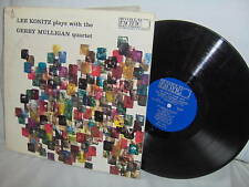 LEE KONITZ-PLAYS WITH THE GERRY MULLIGAN QUARTET LP