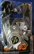 Disney DLP Pin Trading Day Zero and Jack 20th Anniversary NBC Nightmare Pin