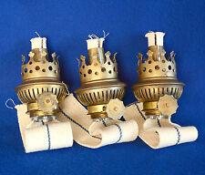 Lume a Petrolio 3 Bruciatori  x 3 Oil Lamp Burners Brenner Petroleumlampe