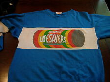 Vintage Jane Colby Lifesavers Candy Sweater 1987  Hipster Club Ironic Cute