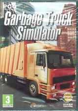 Garbage Truck Simulator, 5 Trucks, Become A Bin Man, Dustman, PC Sim Game, NEW
