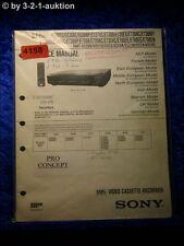 Sony Service Manual SLV E727VC /E730VC /E730VP /E735VC /E730UX (#4158)